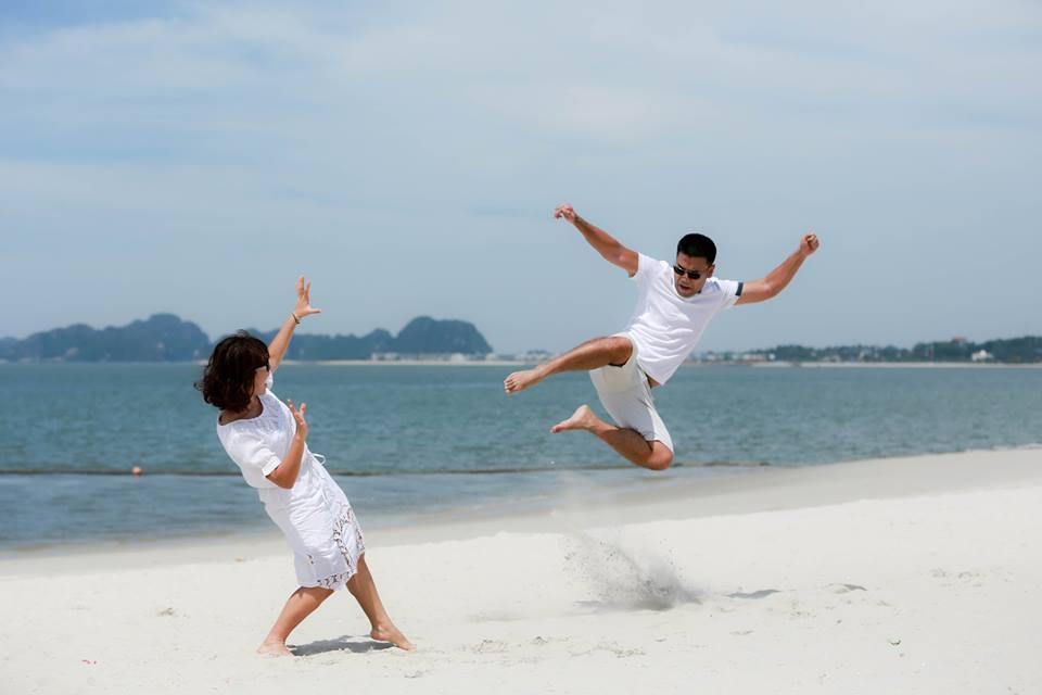 lãng mạn bãi biển đảo rều