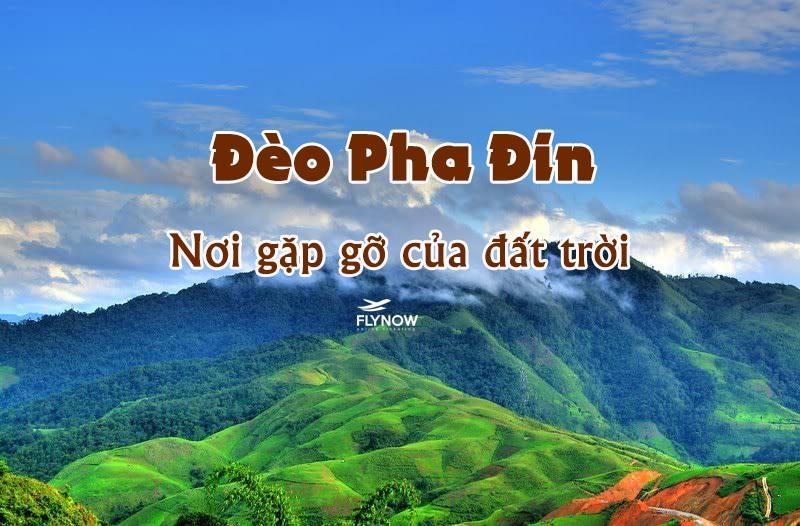 cung đường đèo Việt Nam đèo pha đin